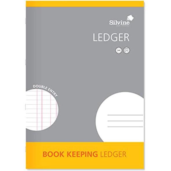 Silvine A4 Book Keeping Range - Ledger