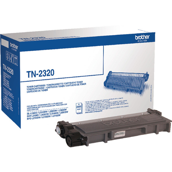 Brother TN-2310 (1200 Page Yield) Laser Toner Cartridge (Black)