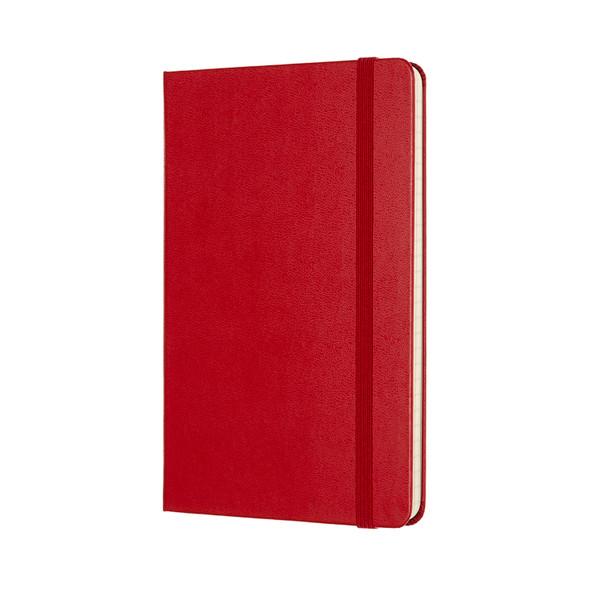 MOLESKINE LARGE RULED SCARLET RED HARD COVER