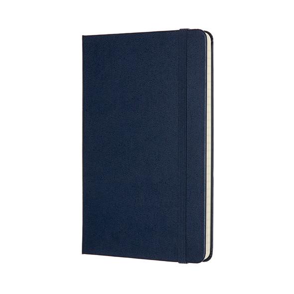 MOLESKINE LARGE RULED SAPPHIRE BLUE HARD COVER