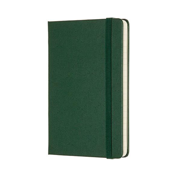 MOLESKINE LARGE RULED MYRTLE GREEN HARD COVER