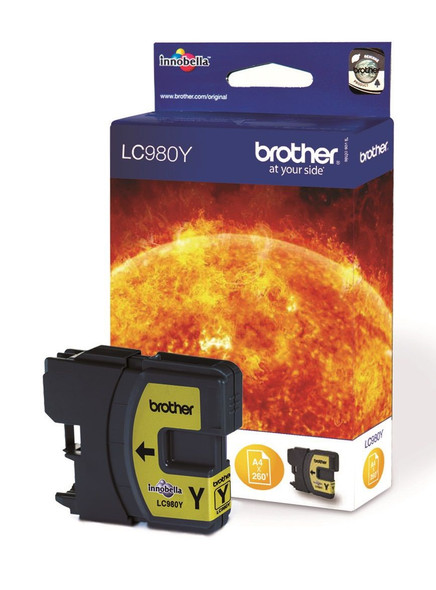 BROTHER LC980 YELLOW