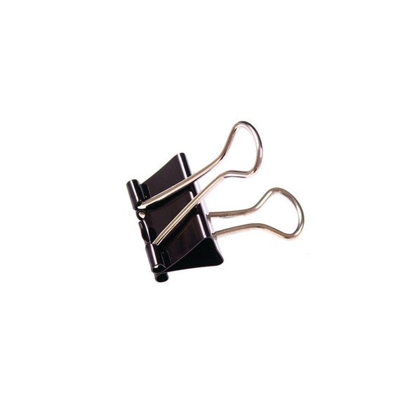 QCONNECT FOLDBACK CLIPS 16MM (PACK OF 10)