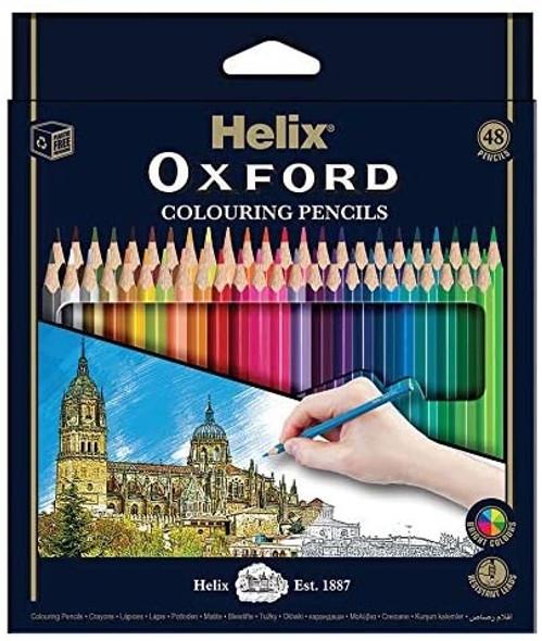 OXFORD COLOURING PENCILS X48 BOX