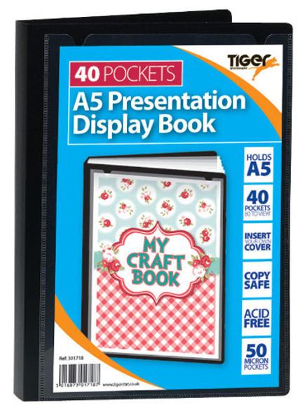 A5 40 Pkt Presentation Disp Bk