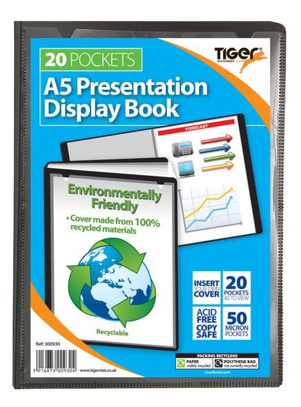 A5 20pkt Presentation Display Book