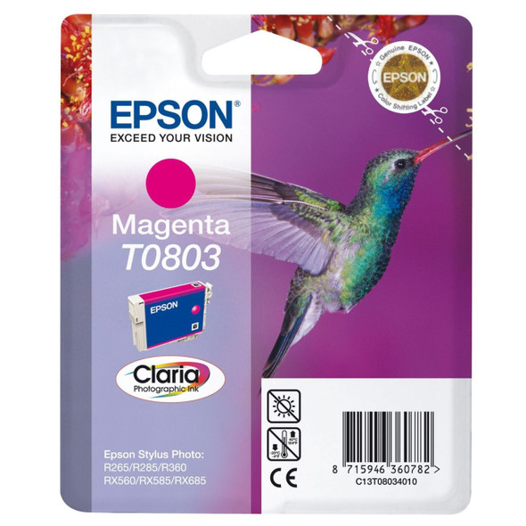 EPSON T0803 (HUMMINGBIRD) MAGENTA