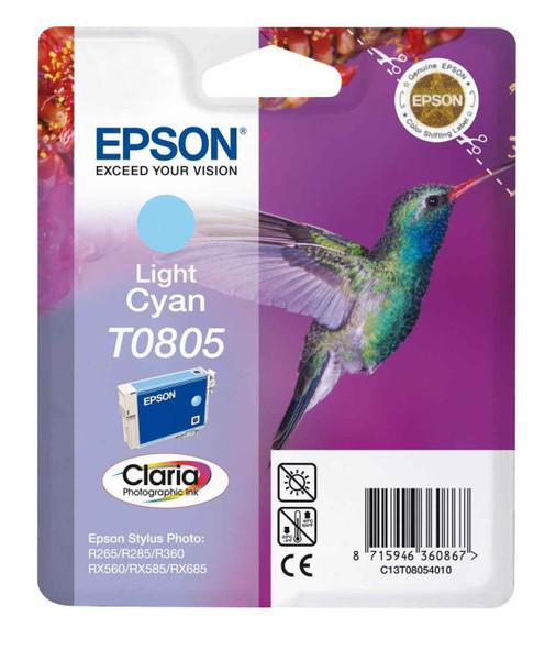 EPSON T0805 (HUMMINGBIRD) LGT CYAN