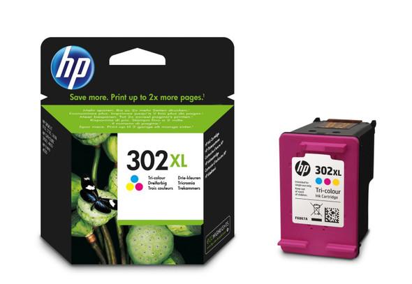HP 302XL TRI-COLOUR INK