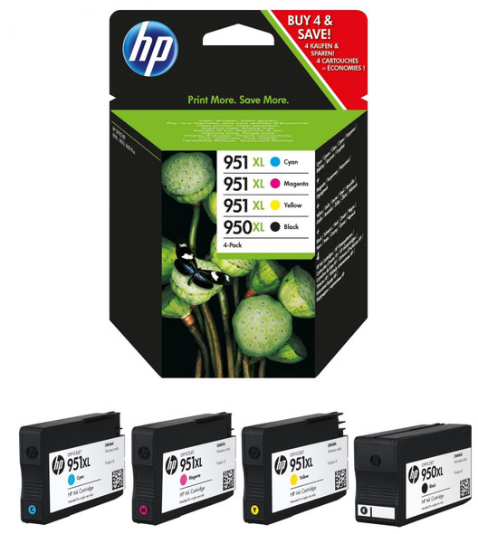 HP 950/951XL COMBO PACK