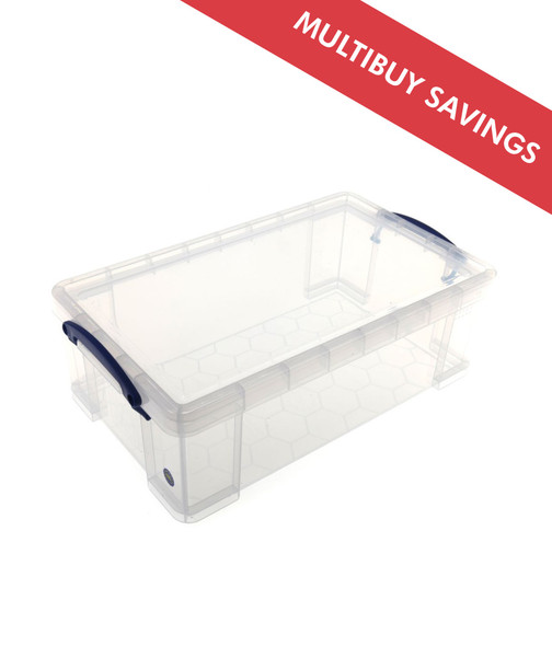 REALLY USEFUL BOX CLEAR 12L