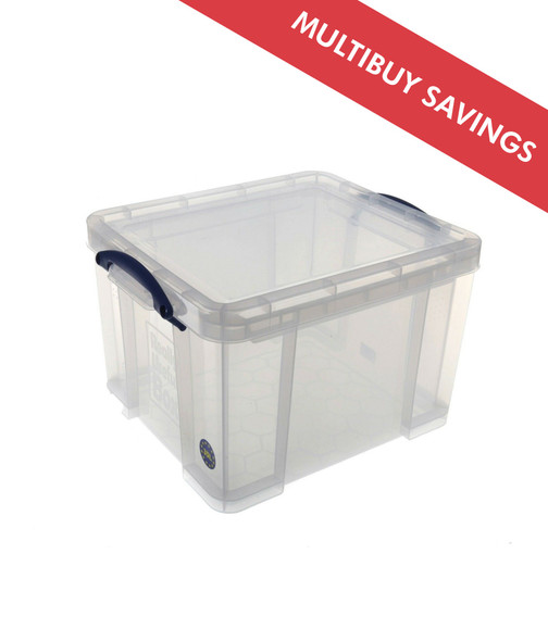 REALLY USEFUL BOX CLEAR 48L
