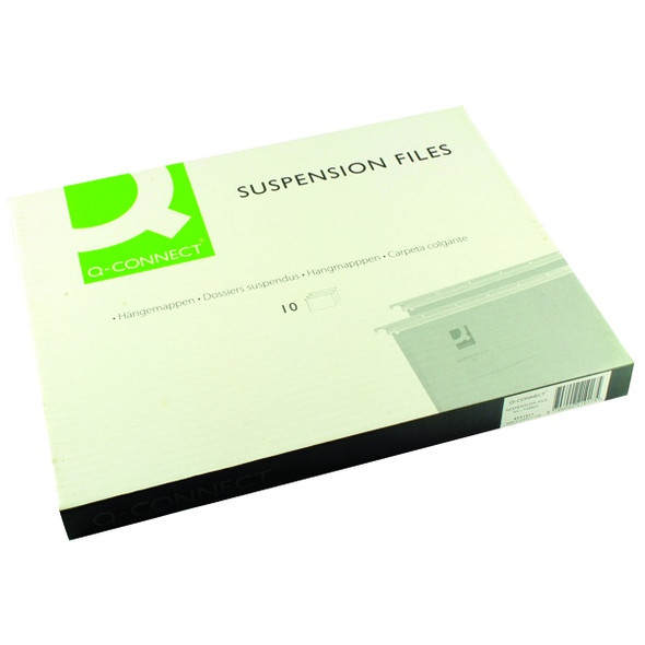 Q-CONNECT A4 TABBED SUSPENSION FILES (PACK OF 10)