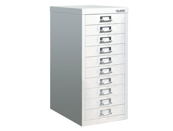 BISLEY 10 DRAWER WHITE