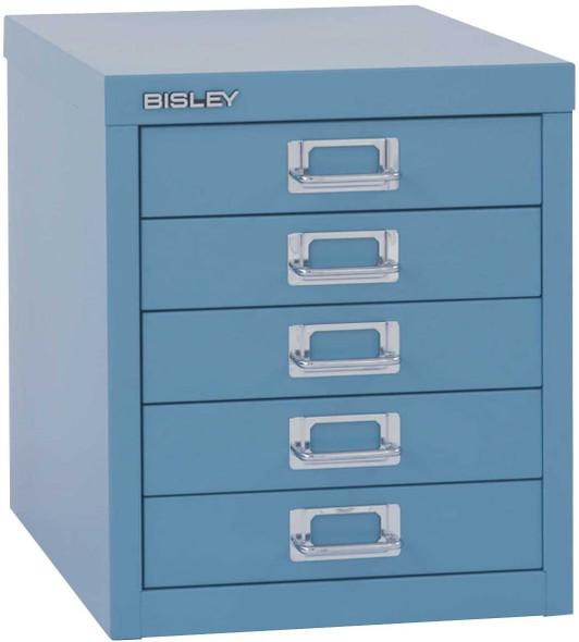 BISLEY 5 DRAWER LIGHT BLUE