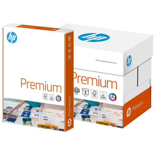 HP Premium Paper A4 100gsm White 2500 Sheets (Box)