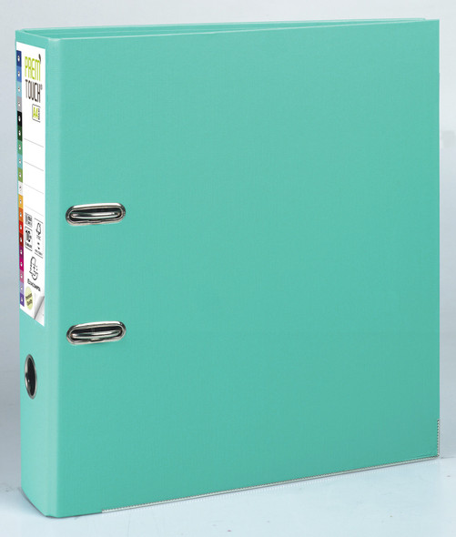 Lever arch file Prem'Touch PP A4 maxi 80mm- Light Green