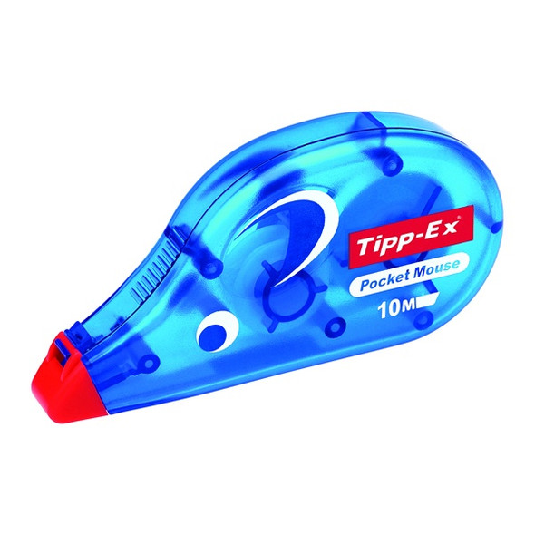 TIPP-EX POCKET MOUSE CORRECTION ROLLER - SINGLE BLISTER