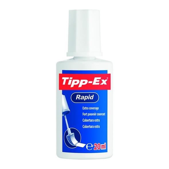 TIPP-EX RAPID CORRECTION FLUID 20ML - SINGLE BLISTER