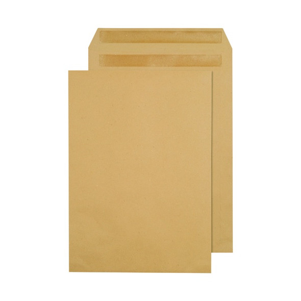 Q-CONNECT C4 ENVELOPES POCKET SELF SEAL 80GSM MANILLA (PACK OF 250)