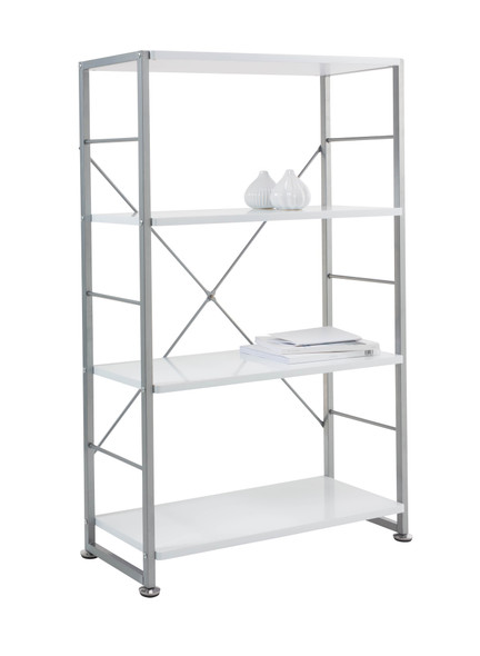 CABRINI WHITE BOOKCASE