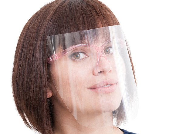 DISPOSABLE FACE SHIELD - PREMIUM CLEAR SINGLE