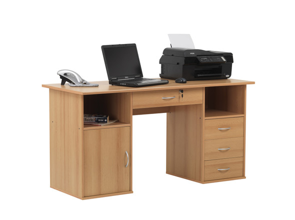DALLAS BEECH EFFECT DESK