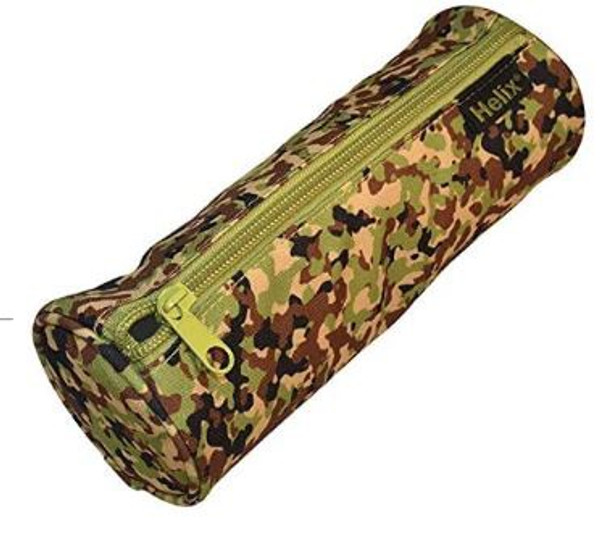 OXFORD CAMO PENCIL CASE GREEN