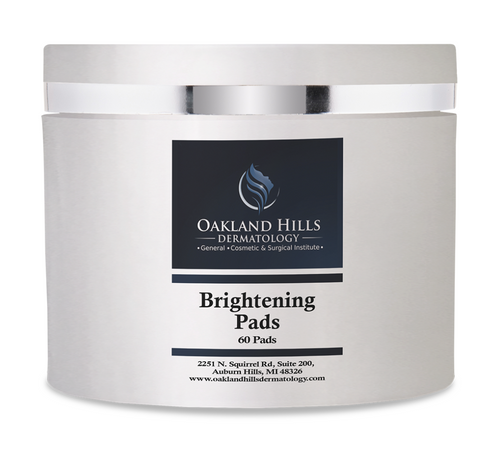 Brightening Pads with Hydroquinone 8%