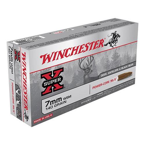 Win Ammo 7mmwsm 140gr Pwr Core 95/5 Lf 20/10