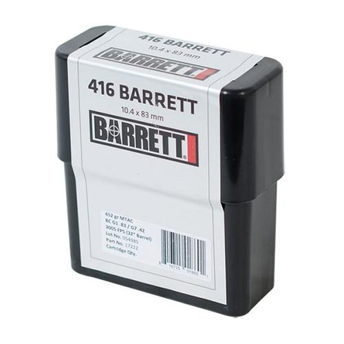 Barr Ammo 416barr 452gr Ceb Mtac 80rd