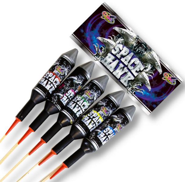 5 Huge Rockets !