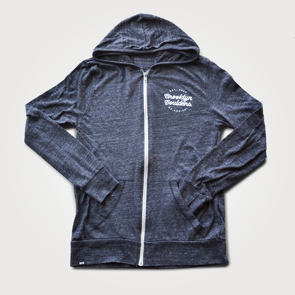 Unisex Lightweight Full Zip Hood