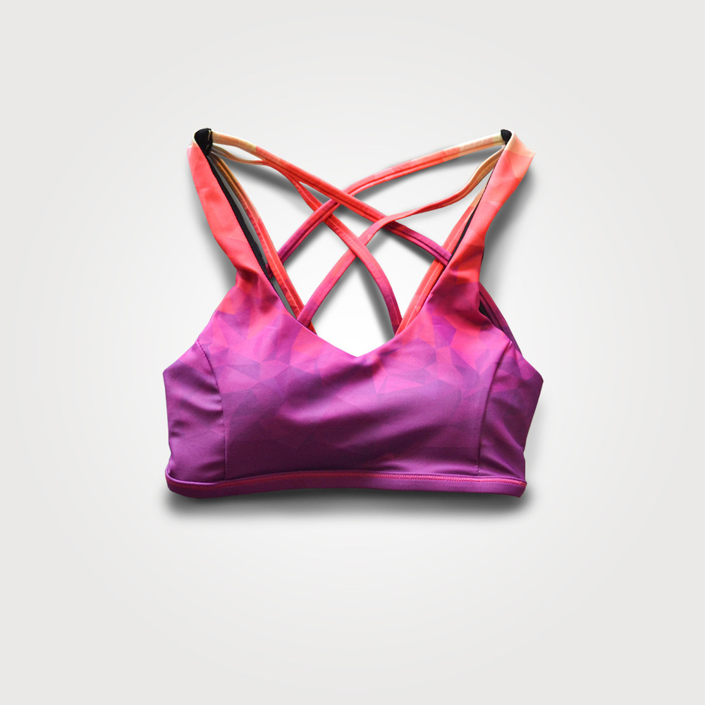 Volume Ombre Sports Bra
