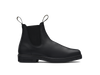 Side View Blundstone 663 Black full grain leather elastic side Dress Boot (663)