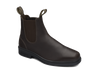 Angle View Blundstone 659 Brown full grain leather elastic side Dress Boot (659)