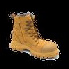 Blundstone 992 Wheat Premium Nubuck Lace Up Steel Cap Safety Boot (Blundstone 992)