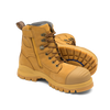 Pair Blundstone 992 Wheat Premium Nubuck Lace Up Steel Cap Safety Boot (Blundstone 992)