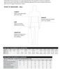 Thomas Cook Size Guide Men