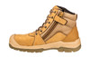 Puma Safety Boots Tornado Wheat Zip Sided Work Boots with Composite Toe Cap