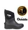 BOGS Bozeman Mid Insulated Gumboots in Black