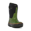 BOGS Kid's Classic Scales Insulated Waterproof Gumboots with Pull Handles