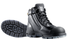 Redback Cobar Zip Sided Steel Toe Work Boots with Scuff Cap in Black (USCBZS Black)