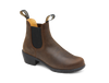 Blundstone 1673 Women's Casual Heeled Leather Boots in Vintage Brown (1673)