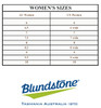 Blundstone Women's Sizing Chart