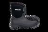 Otway Cloud Mid Lightweight Insulated Waterproof Neoprene Gumboots in Black (OM00110)