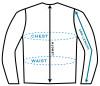 Johnny Reb Jackets and Vest Measuring Diagram