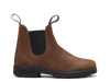 Side View Blundstone 1911 Premium Waxed Tobacco Suede Leather Boots (1911)