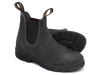 Pair Blundstone 1910 Premium Waxed Steel Grey Suede Leather Boots (1910)