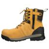 Zip View BOGS Pillar 8 Men's Waterproof Composite Safety Toe Zip Sided Work Boots in Camel (978763 – 220)